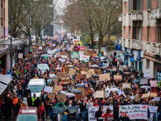 France Manifestation Coronavirus