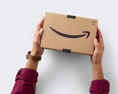 Un colis d'Amazon.