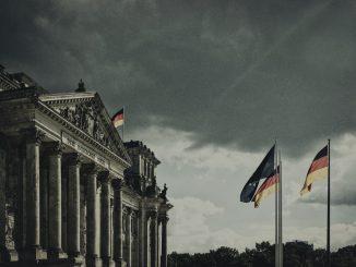 Vue du parlement allemand