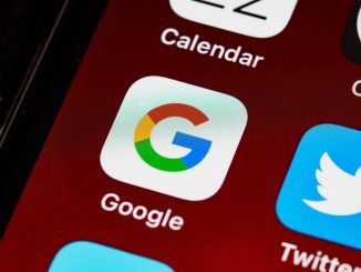 Logo de Google, l'un des géants de la tech (GAFA).