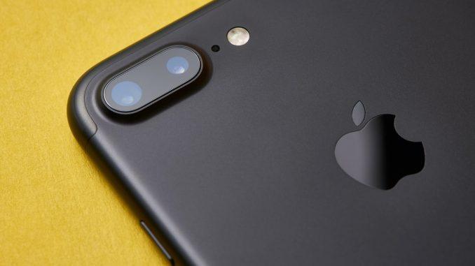 iPhone 7 Plus Dual Lense Camera Detail