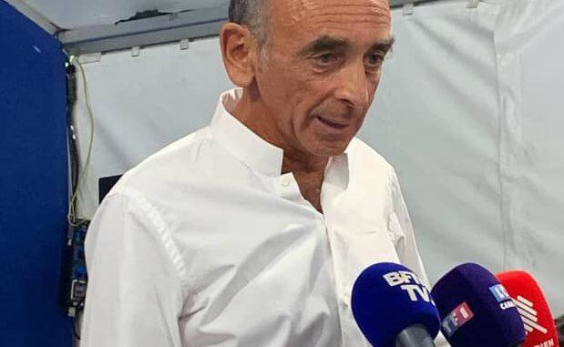 Eric Zemmour, probable candidat à la présidentielle de 2022.
